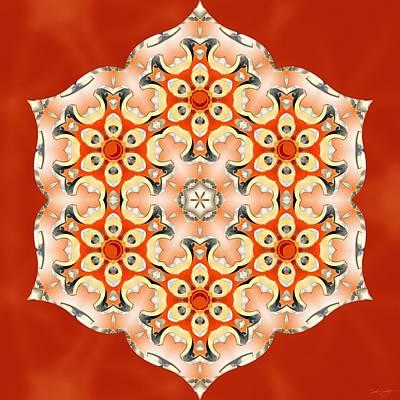 Digital Art - Svadhisthana Glory by Derek Gedney