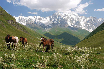 Photograph - Svaneti  by Ivan Slosar