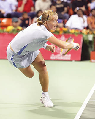 Photograph - Svetlana Kuznetsova In Action by Paul Cowan