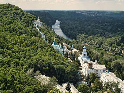 Svyatogorsk Cave Monastery Art Print