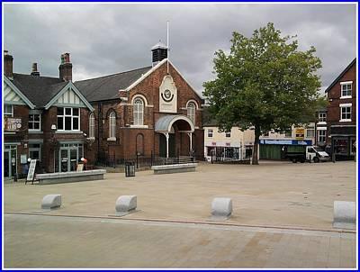 Photograph - Swadlincote Town Hallphoto by Geoff Cooper