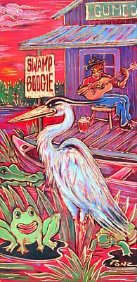 Painting - Swamp Boogie by Robert Ponzio