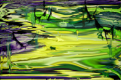 Digital Art - Swamp by Ericamaxine Price