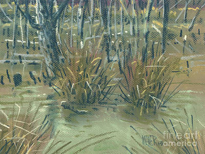 Painting - Swamp Grass by Donald Maier