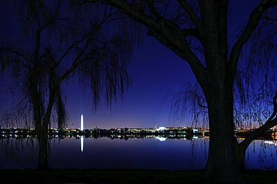 Jefferson Memorial Photograph - Swamp Land No More by Metro DC Photography