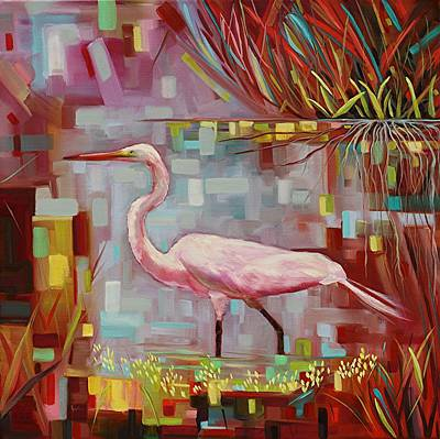 Swamp Walker Original by Eve  Wheeler