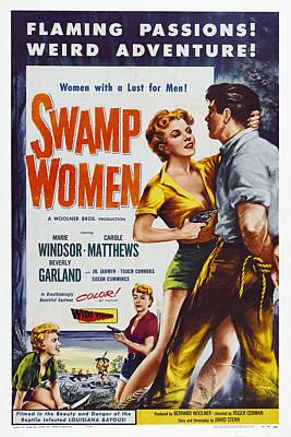 Swamp Women, Us Poster Art, 1956 Art Print by Everett