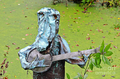 Alligator Digital Art - Swampland Critter Band 2 by Al Powell Photography USA