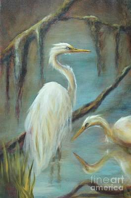 Painting - Swampmates by Kathy Lynn Goldbach