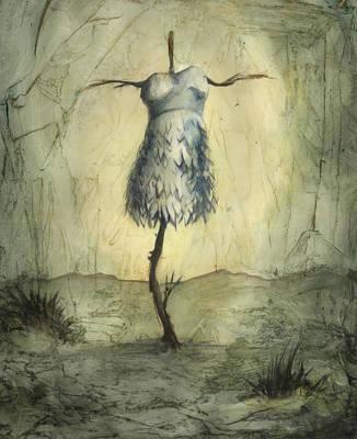 Painting - Swan Cross Dessert by Tyson Schroeder