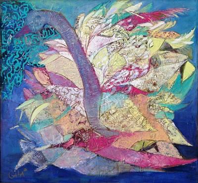 Painting - Swan by GALA Koleva