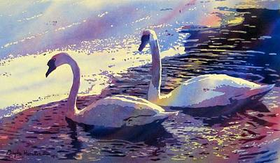 Painting - Swan Lake by Daydre Hamilton