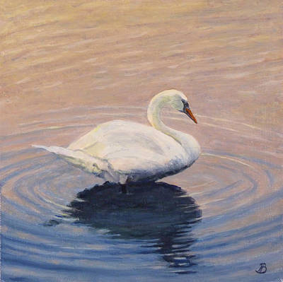 Painting - Swan Lake by Joe Bergholm