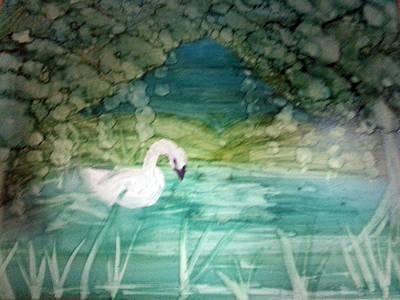 Painting - Swan Lake by Kelly Dallas