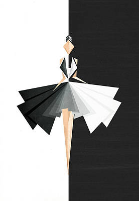 Fashion Design Digital Art - Swan Lake by VessDSign