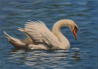 Painting - Swan Song by Jill Ciccone Pike