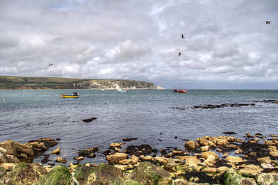 Photograph - Swanage Bay by Chris Day