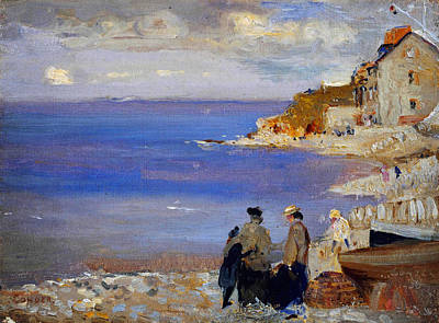 Horizontal Painting - Swanage by Celestial Images