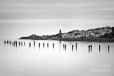 Stopper Photograph - Swanage Old Pier And Peveril Point by Richard Thomas