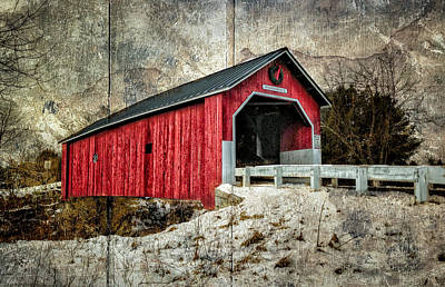 Photograph - Swanzey Bridge by Fred LeBlanc