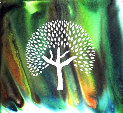 Swapna Vriksh A Tree I Dreamt Of Art Print by Sumit Mehndiratta