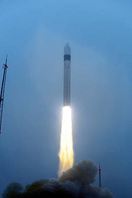 Oceans 11 Photograph - Swarm Satellite Launch by Esa�s. Corvaja