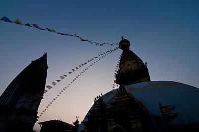 Swayambhunath Stupa Kathmandu Nepal Original