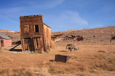 Photograph - Swazey Hotel Bodie Ghost Town by Susan Leonard