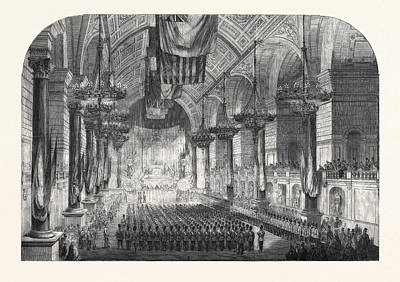 Swearing-in Of The 1st Lancashire Engineer Volunteers In St Art Print by English School