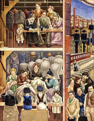 Depression Painting - Sweatshop by Pg Reproductions