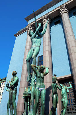 Orpheus Photograph - Sweden, Stockholm - The Concert Hall by Panoramic Images