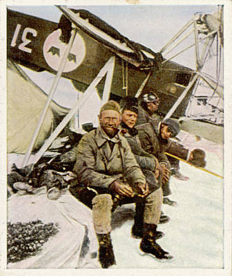 Swedish Aviator Lundborg, Who Art Print by Mary Evans Picture Library