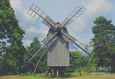 Art Print featuring the photograph Swedish Old Mill by Sergey Lukashin