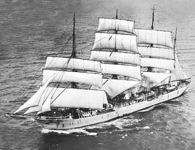 Swedish Training Sailing Ship Art Print