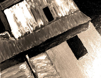 Sweeny's Feed Mill 2 Art Print by Lenore Senior