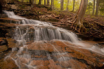 Photograph - Sweeping Falls by Paul Mangold