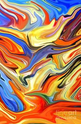 Sweeping Skies Art Print