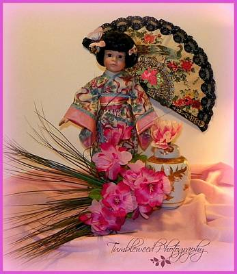 Classical Doll Photograph - Sweer China Doll by Carol Grenier