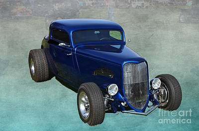 Photograph - Sweet 1933 Ford Coupe by Luther Fine Art