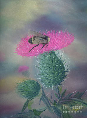 Painting - Sweet And Prickly by Lynn Quinn