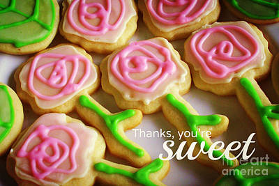 Photograph - Sweet As Cookies by Valerie Reeves