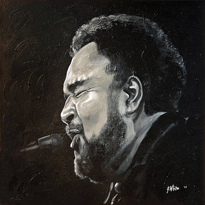 Painting - Sweet Baby-george Duke by Jerome White