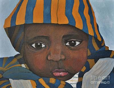 Painting - Sweet Baby Julien by Reb Frost
