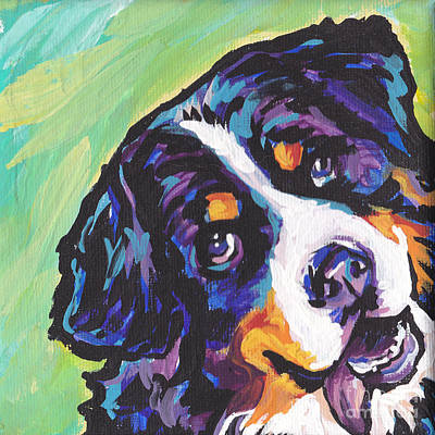Bright Colors Painting - Sweet Berner by Lea S