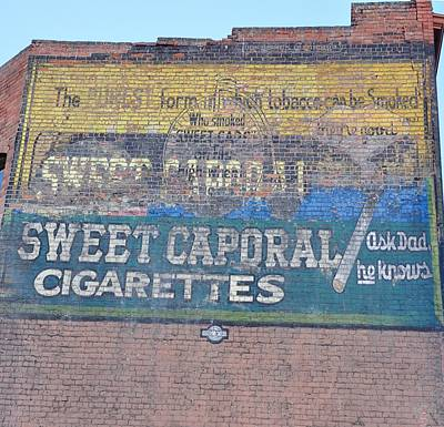 Sweet Caporal Cigarettes Photograph - Sweet Caporal Cigarettes by Image Takers Photography LLC - Laura Morgan