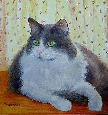 Painting - Sweet Chloe by Elizabeth Crabtree