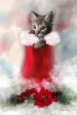 Sweet Christmas Art Print