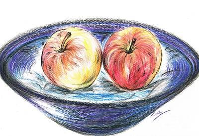Sweet Crunchy Apples Art Print
