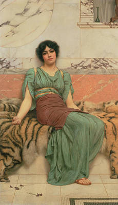 Sweet Dreams Painting - Sweet Dreams by John William Godward