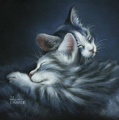 Sweet Dreams Art Print by Cynthia House